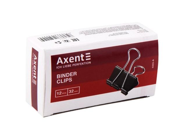 Биндер черный 32 мм Axent 4403-A