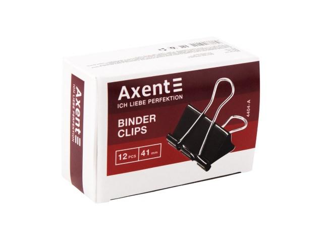 Биндер черный 41 мм Axent 4404-A
