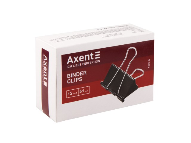 Биндер черный 51 мм Axent 4405-A