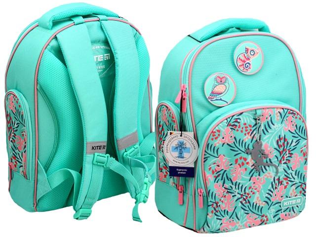 Рюкзак Kite Education Tropical 38*29*16.5см мятный K20-706M-5