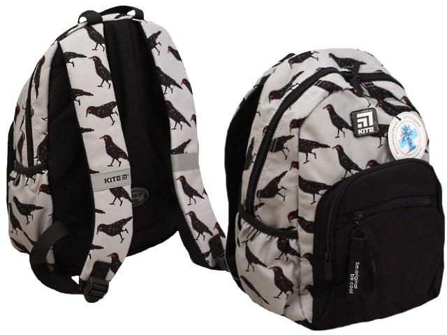 Рюкзак Kite Education 37*26*13см серый K20-938M-2