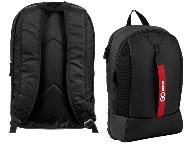 Рюкзак Kite GoPack Сity 44.5*29.5*14.5см черный GO20-151L