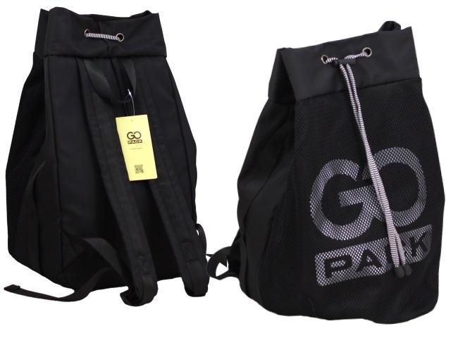 Рюкзак-мешок Kite GoPack Сity 39*26*26см черный GO20-154M