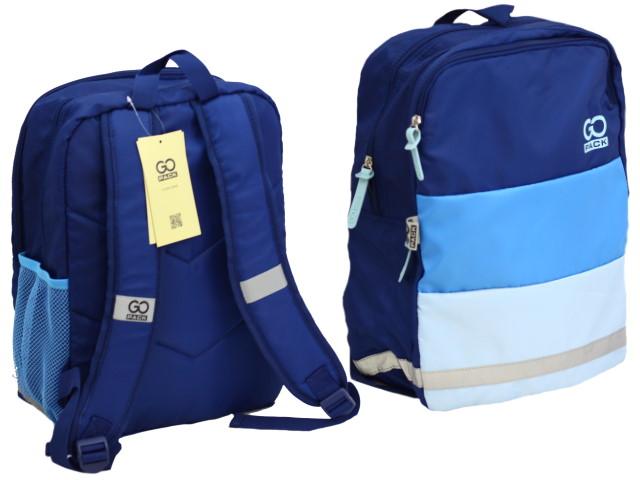 Рюкзак Kite GoPack Сity 38.5*28*15см синий GO20-158M-1