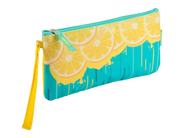 Пенал-косметичка Kite Лимон желто-бирюзовый K18-664-4