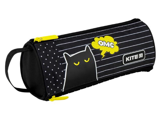 Пенал-косметичка Kite Черный кот ОМС черный K20-692-1