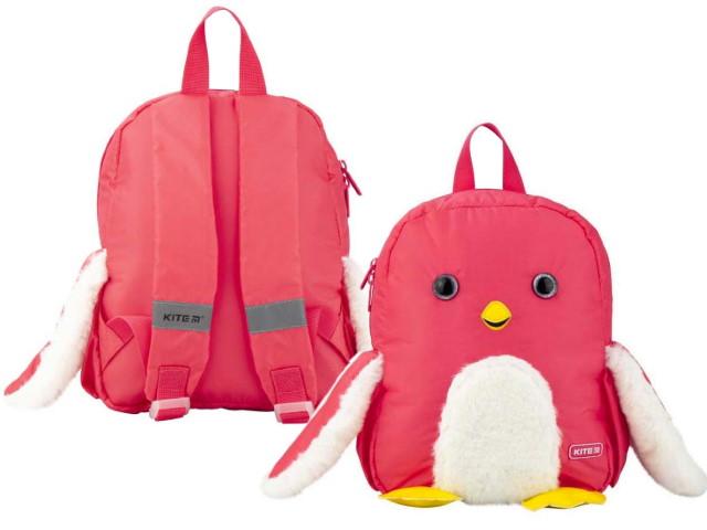 Рюкзак детский Kite Kids Penguin 30*24*9см розовый K20-563XS-1