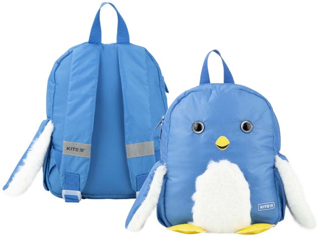 Рюкзак детский Kite Kids Penguin 30*24*9см синий K20-563XS-2
