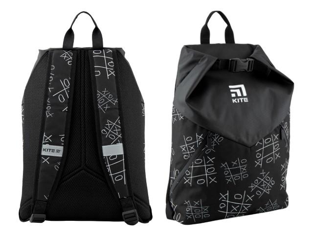 Рюкзак-мешок Kite City 42*34*22см черный K20-920L-2