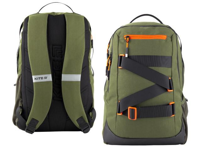 Рюкзак Kite City 46*30*13см зеленый K20-939L-2