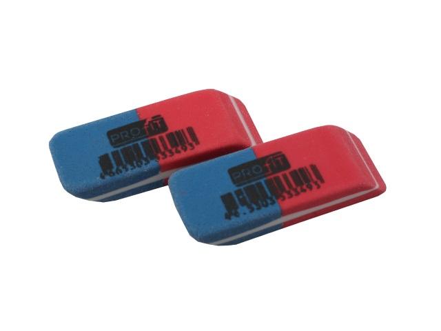 Ластик Profit красно-синий прямоугольный 40*14*8мм ЛС-3349