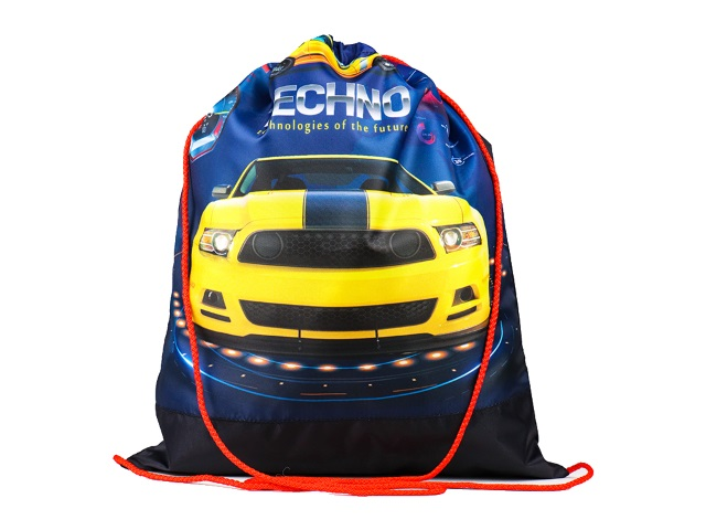 Сумка для обуви Prof Press Желтая гоночная машина МО-6580
