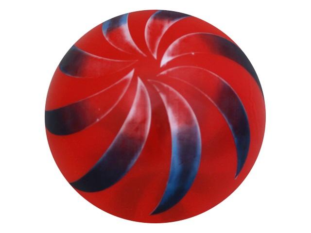 Мяч 22 см Рыжий кот прозрачный цветной AN01075