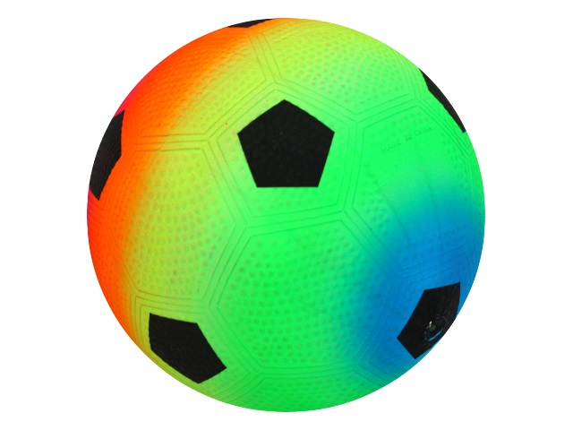 Мяч 23 см Рыжий кот Футбол неон AN01739