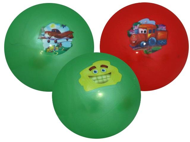 Мяч 16 см цветной микс МЧ-7027