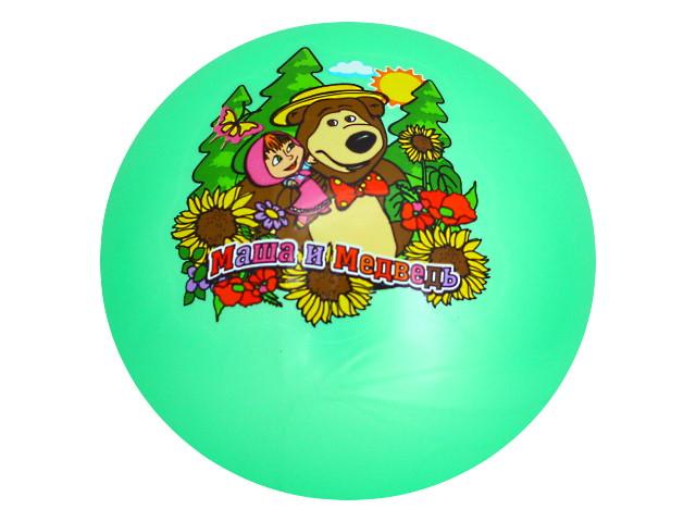 Мяч 23 см Маша и медведь Играем вместе AD-9(MA)