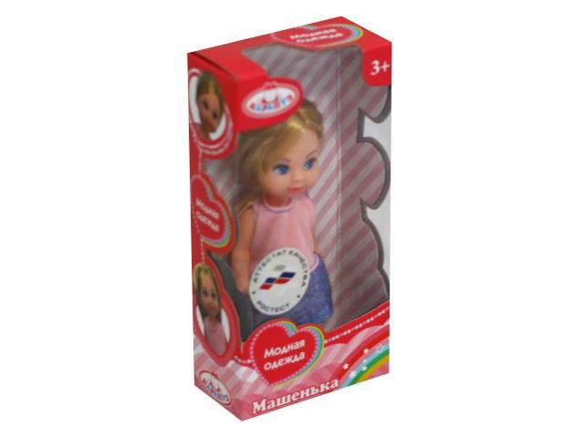 Кукла Машенька 12см в модной одежде Карапуз MARY15686-BB