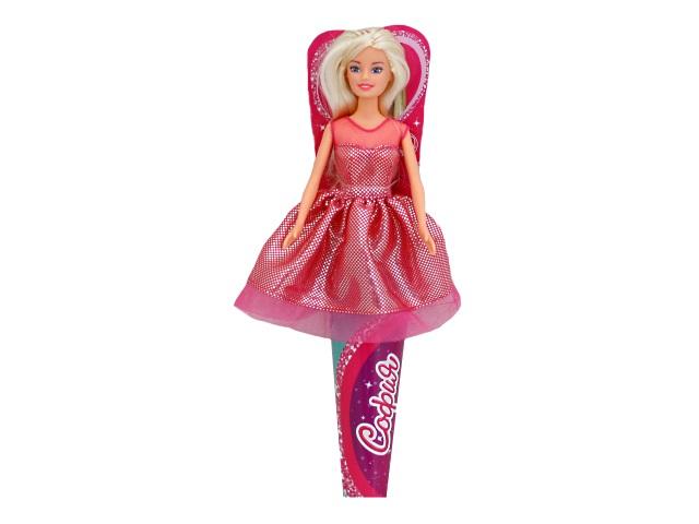 Кукла София в модном платье микс 29см в рожке Карапуз 66449-S-BB