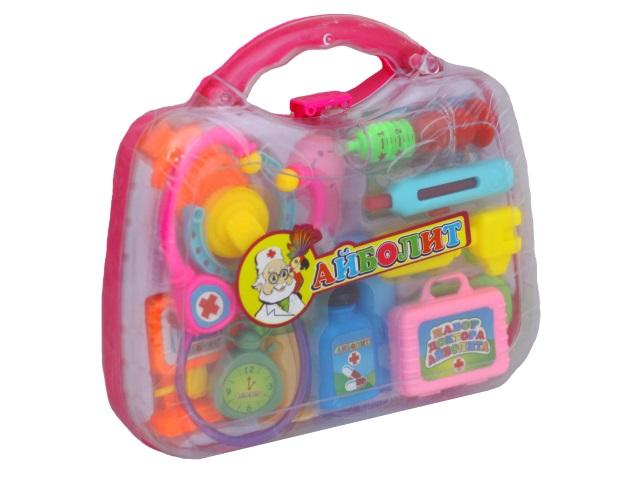 Докторский набор 14 предметов Доктор Айболит в чемодане Играем вместе B325544-R