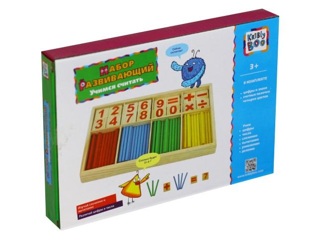 Настольная игра Учимся считать Kribly Boo 66443