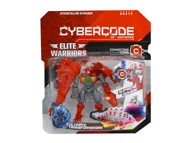 Трансформер 10см Interstellar Intruder Cybercode 66413