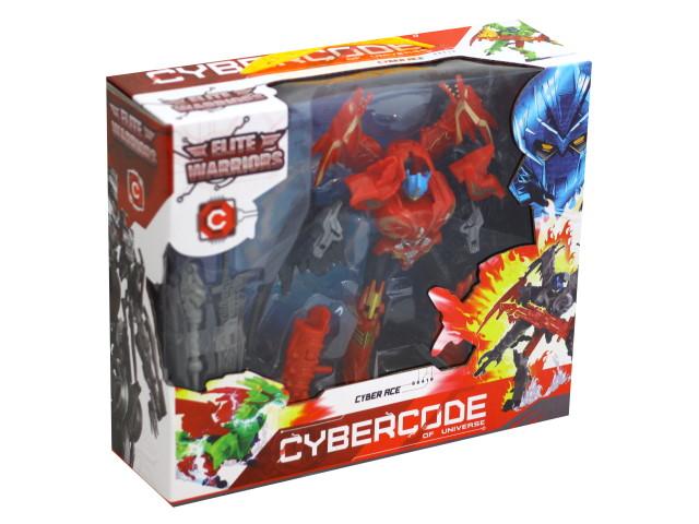 Трансформер 18см Cyber Ace Elite Warriors 66419