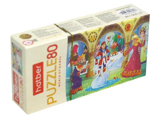 Пазлы   80 деталей Hatber Любимые сказки 80ПЗ5_19487