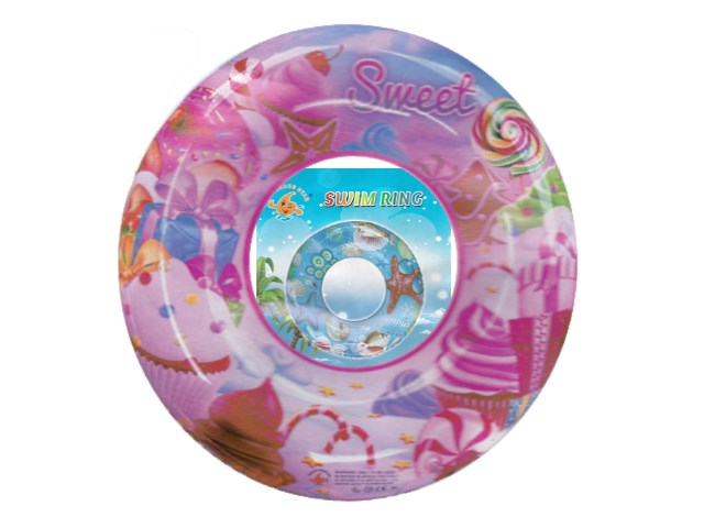 Круг 80см Sweet Summer микс Рыжий кот AN01509