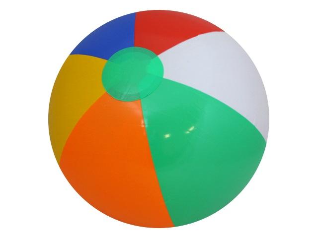 Мяч надувной  35 см полосатый Рыжий кот AN01239