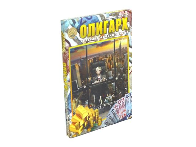 Настольная экономическая игра Олигарх 97632