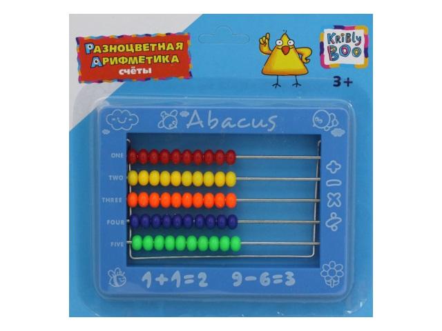 Счеты Разноцветная арифметика Kribly Boo 62763