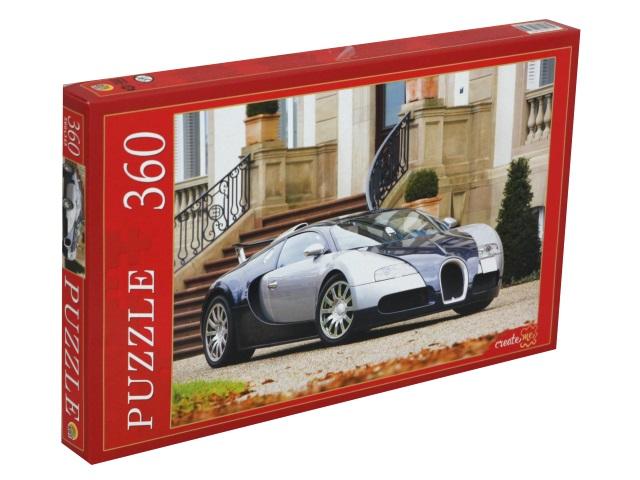 Пазлы  360 деталей Рыжий кот Автомобиль у парадного входа КБ360-0652