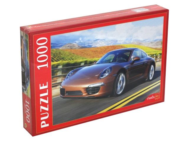Пазлы 1000 деталей Рыжий кот Авто на шоссе КБ1000-7867