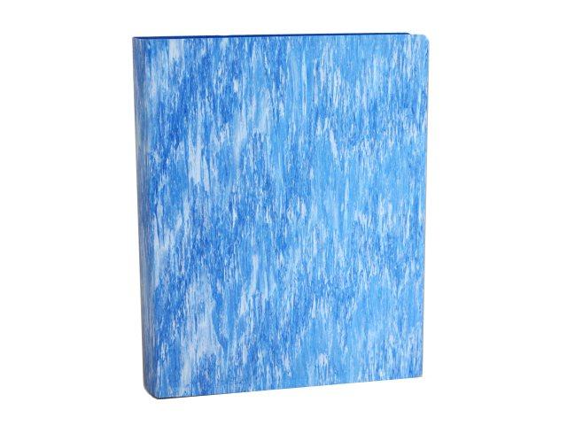 Папка с файлами  60ф А4 Бюрократ Melange 0.7мм синяя MLPV60blue