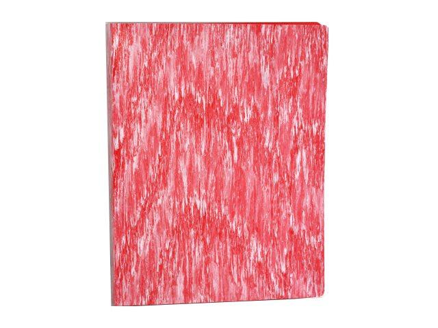 Папка с файлами  60ф А4 Бюрократ Melange 0.7мм красная MLPV60red
