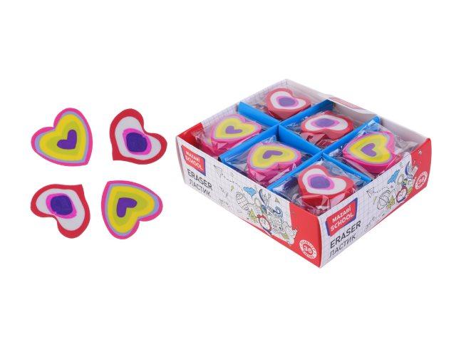Ластик Mazari Heart фигурный M-6841