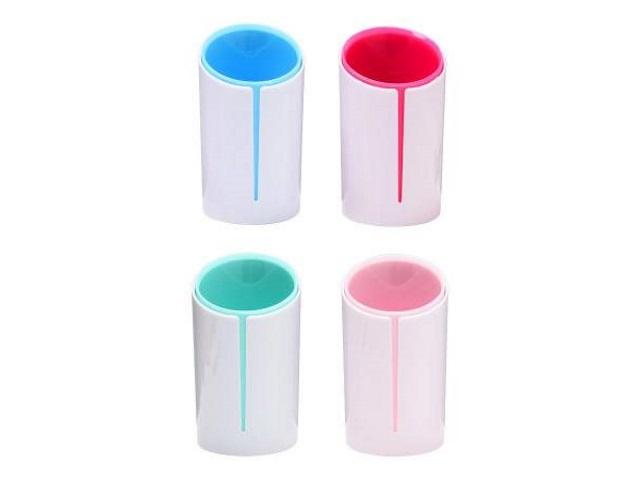 Стакан для ручек пластик Mazari Color Pair цветной круглый М-9308