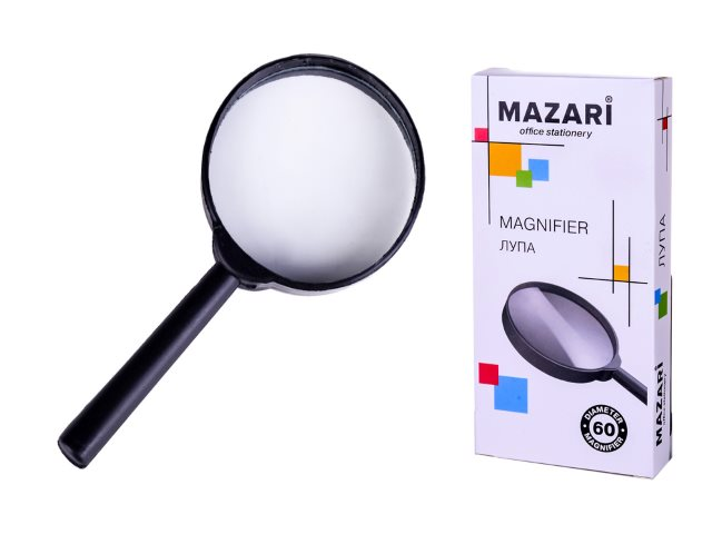 Лупа  60мм 2-кратная Mazari M-5586