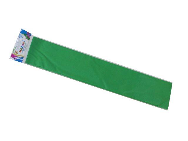 Гофробумага Mazari светло-зеленая 50*250см М-8844