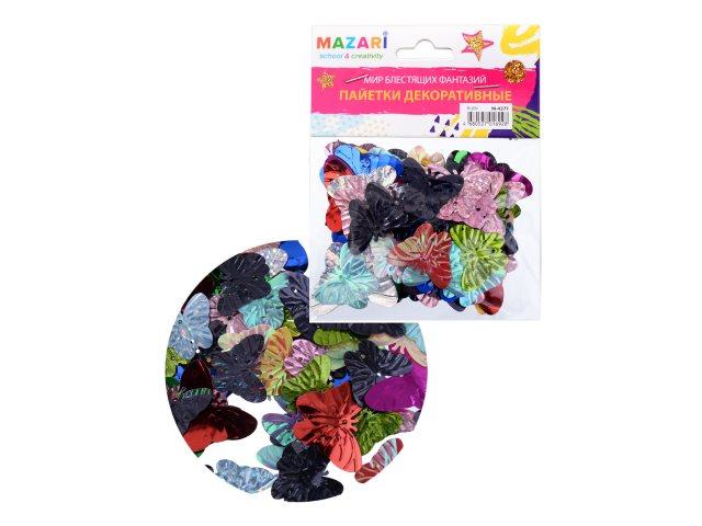 Декоративные элементы Пайетки Mazari Ruby M-4377