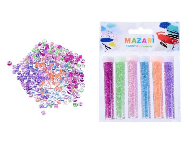 Бисер  6 цветов Mazari M-9807