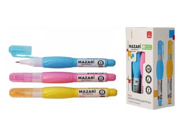 Корректор-ручка Mazari Mini 4мл М-4113