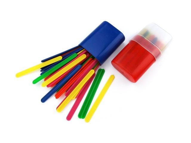 Палочки счетные 30 шт. цветные в пенале Mazari М-2003
