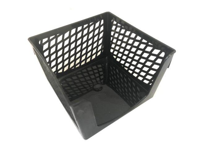 Бокс для бумаги 9*9*5 см Mazari Office пластик черный М-16011