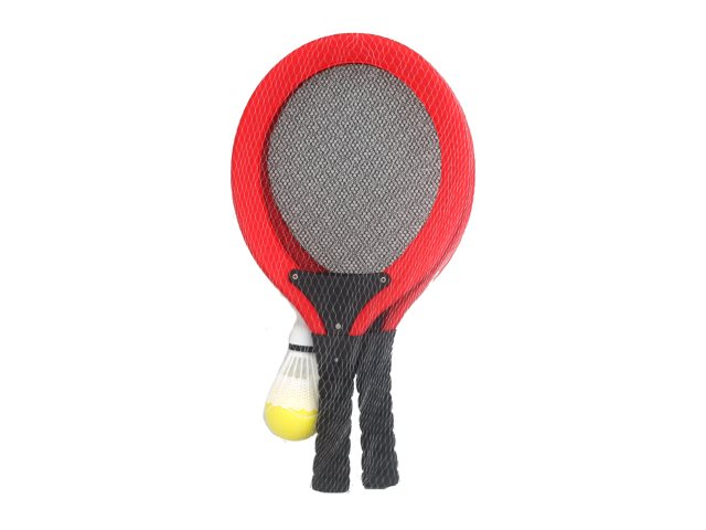 Бадминтон 2 ракетки волан+мяч ABToys S-00178