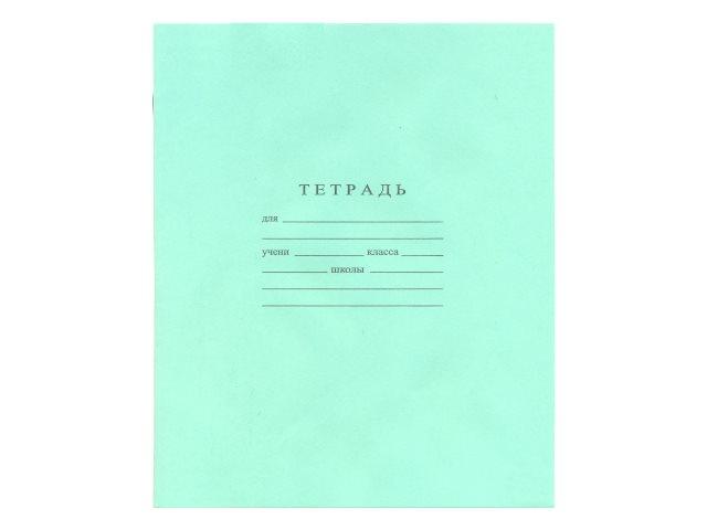 Тетрадь 12л косая линия WM Зеленая 002000800