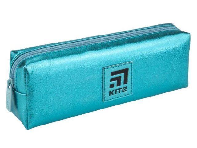 Пенал-косметичка Kite Экокожа бирюзовый K20-642-14