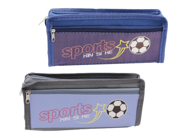 Пенал-косметичка Basir Sport текстиль цветной МС-5116