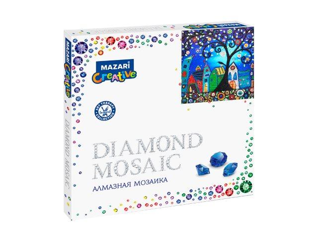 Алмазная мозаика 30*30см Mazari Сказочный городок M-10594