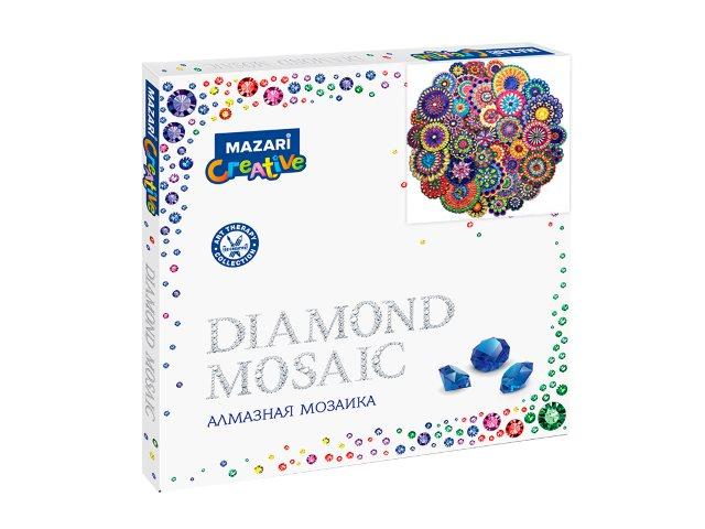 Алмазная мозаика 30*30см Mazari Орнамент M-10596